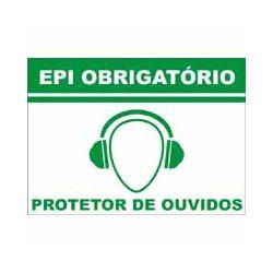 Protetor auditivo – obrigatório