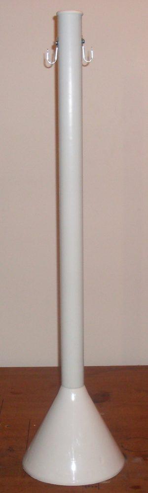 A – Pedestal STD COLOR:- BRANCO, AZUL, VERMELHO, AMARELO E VERDE ( 5,5 KG )